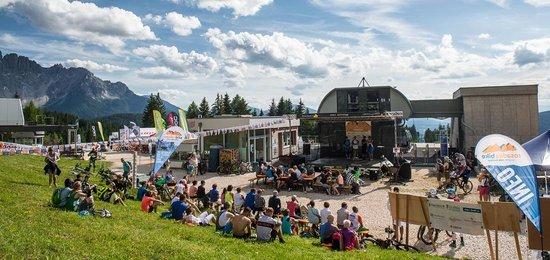 Kult(o)urelle Events beim Bikefestival in den Dolomiten