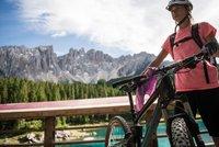 Special concert at Lake Carezza - Rosadira Bikefestival