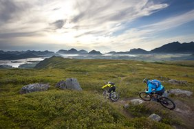 Travelling around the world by MTB