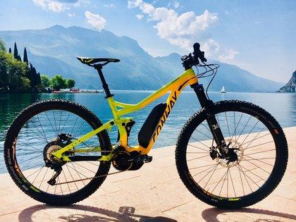 Die neuesten Conway Modelle beim Rosadira Bikefestival testen