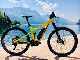 The newest Conway products at the Rosadira Bikefestival
