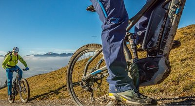 Fahrtechniktraining mit dem  E-Mtb Bikefestival Südtirol