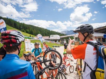 Kinderprogramm beim Rosadira Bikefestival