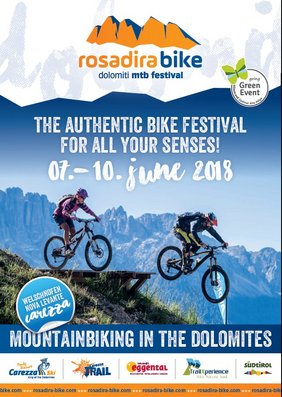 Bikefestival in Welschnofen Carezza - Rosadira Bike